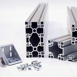 Aluminium-Bausystem